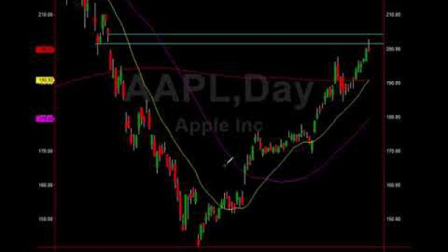 $AAPL Alert: Major Resistance Tagged, Topping Tail In Progress