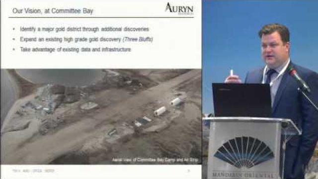 SMI (26/11/15): Daryl Rebeck -Auryn Resources Inc.